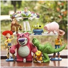 Disney Toy Story Vollständige Sammlung Woody Buzz Lightyear Jessie Hamm Rex Slinky Dog Herr Potato Kopf Puppe Action figuren zu
