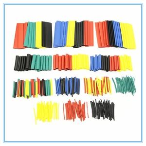 328 pz 8 Misure Multi Color Poliolefina 2:1 Tubi Termorestringenti Tubo Alogena-Spedizione Assortimento Manicotti Wrap Tubi