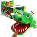 Hot Selling Funny Novelty Toys Crocodile Mouth Dentist Toy Bite Finger Fun Party Games The Special Gifts Play With Kids Toy Gift