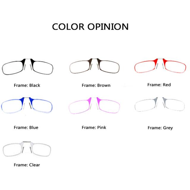 Mini Folding Ultra Light Reading Glasses Men and Women