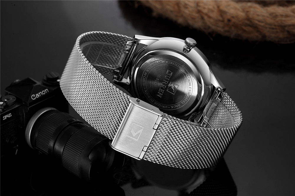 CURE - Thin Minimal Wrist Watch With Steel Strap | Dukesman.com
