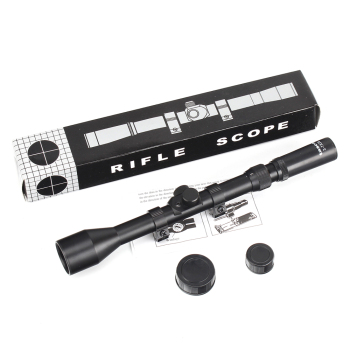 AOT 3-7 X 28 Hunting Shooting Riflescopes Tactical Optical Sight with 11mm Rings