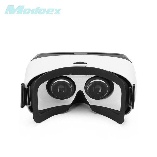 f8ba6a49b98 2017 New arrival fashion brand modoex Bluetooth HD VR Virtual Reality 3D  Glass Headset VRBOX Head