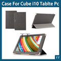 Original High quality PU case for cube i10 10.6 inch Tablet PC,cube i10 case cover+screen protector+touch pen