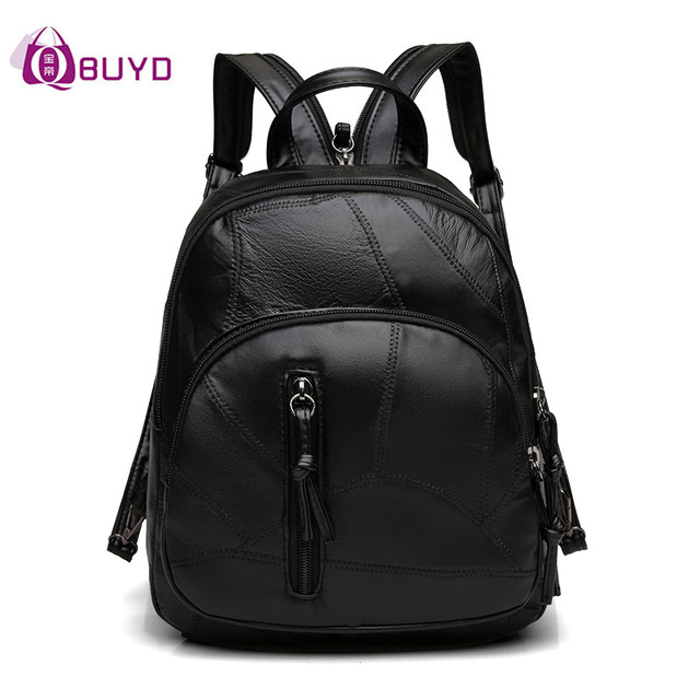 Aliexpress.com : Buy Personality Mini Backpack Women Soft Leather ...