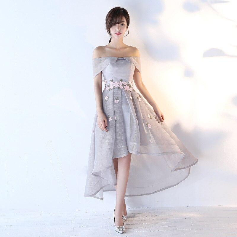 Sexy Slim Improved Cheongsam Asymmetric Hems Irregular Cropping Chinese Evening Dress Vestidos Size S-XXL