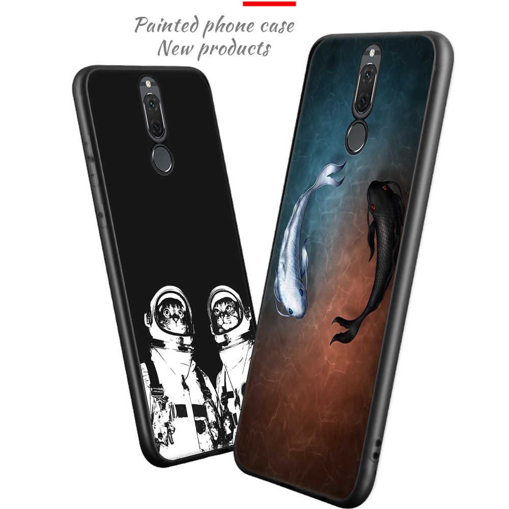 Soft TPU Phone Case For Huawei P9 P10 P8 Lite Nova 2i P20 Pro Mate 10 Lite Cute Phone Cover For Honor 8 9 Lite Coque Capa Funda