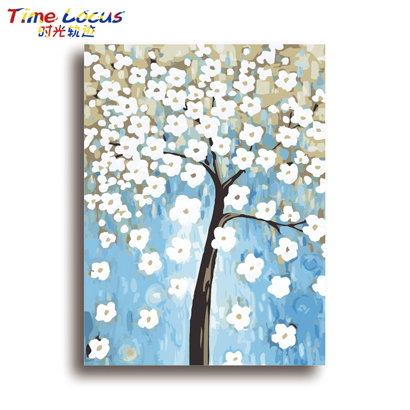 Frame Diy Digital Painting By Number Acrylic Picture Modern Wall Art Hand Painted Oil Painting For Home Decor 40x50cm