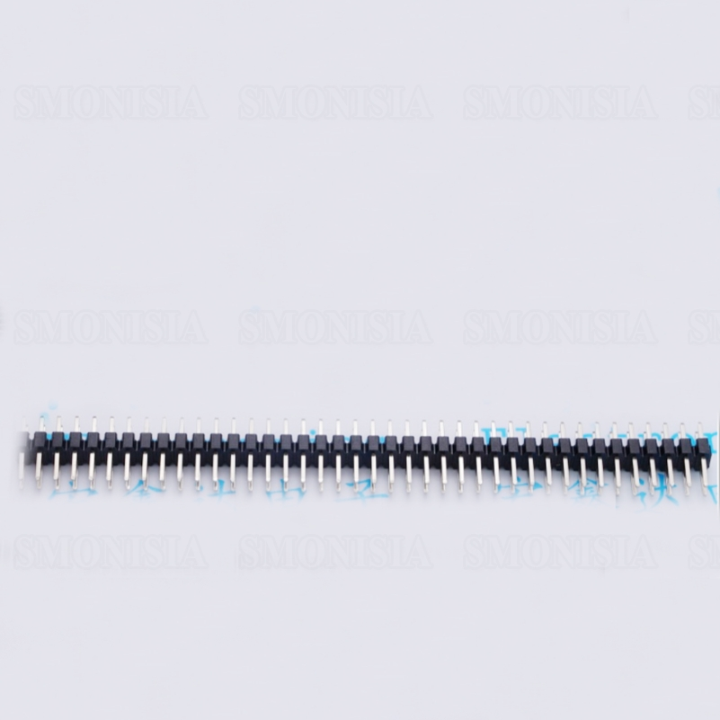2.0mm Double Pin Header Two Rows Straight Pins 2*40P Copper Pin