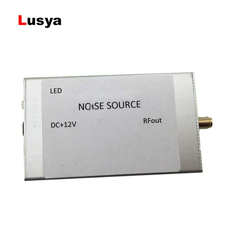 US $27 59 30% OFF|RF Noise signal generator noise source simple spectrum  tracking source Gaussian white noise generator for band amplifier A6 004-in