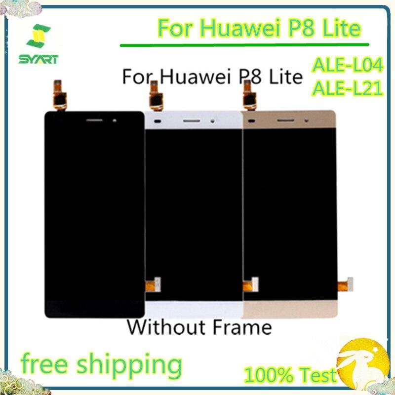 AAA Qualidade No dead Pixel Display LCD Touch Screen Com Digitador Assembléia Com Ferramentas Gratuitas Para Huawei P8 Lite ALE-L04 ALE-L21