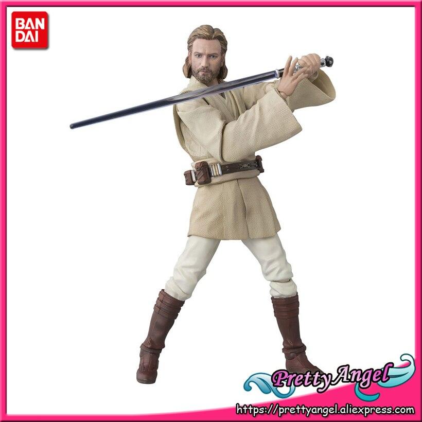 PrettyAngel - Genuine Bandai Tamashii Nations S.H.Figuarts Obi-Wan Kenobi (ATTACK OF THE CLONES) Action Figure цена 2017