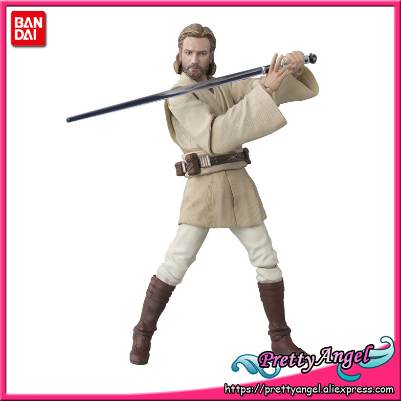 PrettyAngel - Genuine Bandai Tamashii Nations S.H.Figuarts <font><b>Star</b></font> <font><b>Wars</b></font> <font><b>Obi-Wan</b></font> <font><b>Kenobi</b></font> (ATTACK OF THE CLONES) <font><b>Action</b></font> <font><b>Figure</b></font>