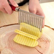 Multifunctional Stainless Steel Vegetable Slice Wavy Potato Cut Flower Knife Fruit And Cutting