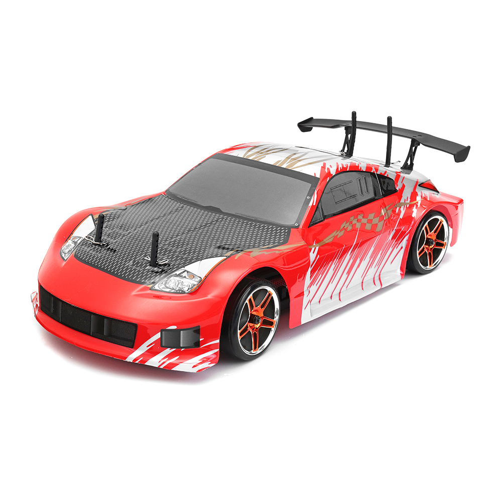 HSP 94123 1/10 RC Car 4WD 2.4G 540 Brushless Motor 7.2V 1800Mah Battery Flying Fish On Road Drifting with 12307 Body RTR Gift стоимость