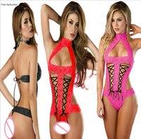Free Seduction Teddies Bodysuits Sexy Underwear Suit Female Perspective Underwear Erotic Bodysuits Lace Teddies Sex Products