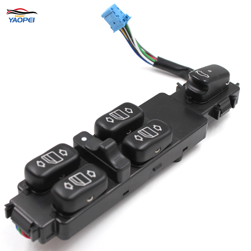 YAOPEI New Power Window Switch OEM 2208201010 For Mercedes Benz W220 S430 S500 S600 S55 AMG 2000-2006