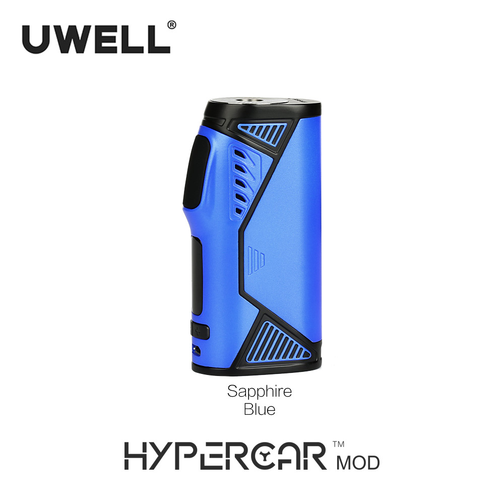 Uwell Hypercar 80W TC Box Mod Electronic Cigarette Compatible with Whirl Tank Atomizer