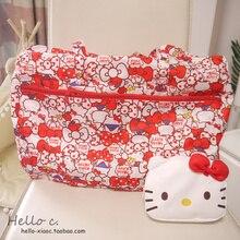 Cartoon Women Hello Kitty My Melody Cinnamoroll Dog Pudding Dog Anpanman Portable Foldable