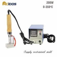 S3550 electric soldering iron,RCIDOS Hot foil Stamping Machine,cake branding machine,Wood embossing machine