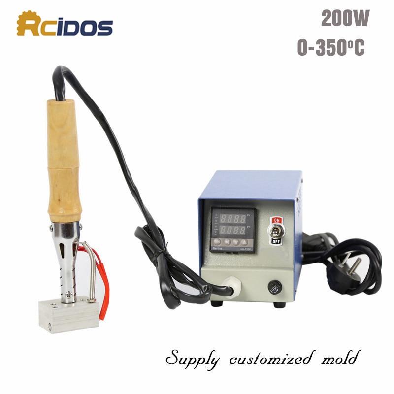 S3550 էլեկտրական եռակցման երկաթ, RCIDOS Տաք փայլաթիթեղով դրոշմելու մեքենա, տորթի բրենդային մեքենա, փայտի դաջող սարք