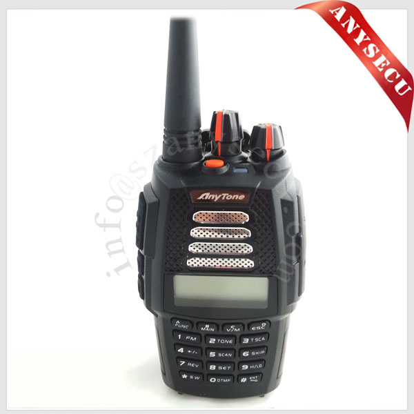 Double bande radio bidirectionnelle portable (UV Dual band 136-174 mhz et 400-480 mhz) anytone AT-398UV de poche radios