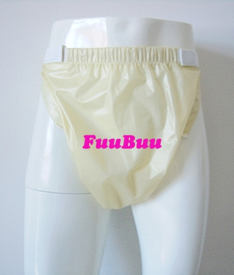 Free Shipping FuuBuu2227-YELLOW  Waterproof Pants/Adult Diaper/incontinence Pants /Pocket Diapers/ABDL