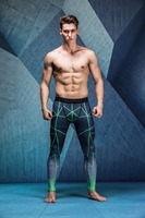 Man S Tight Skin Compression Pants MMA Trousers For Muscle Mens Casual Pants