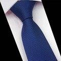 Mantieqingway Fashion Business Suits Hombres Corbatas Tie Corbatas Corbatas Lazo de Los Hombres Populares de la Marca de Poliéster Corbatas de Seda Jacquard de Rayas