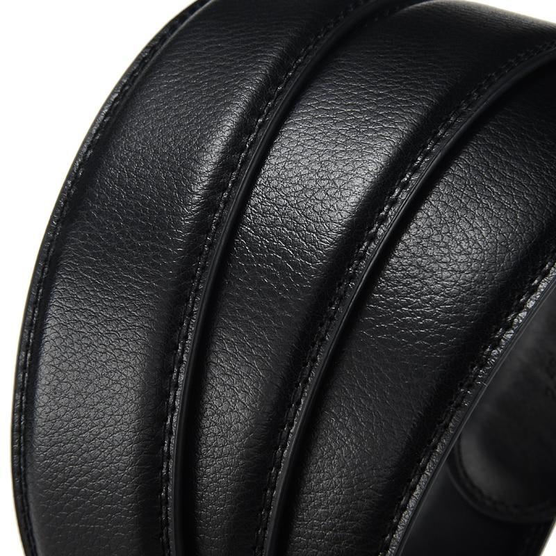 DINISITON Lelaki Belt automatik strap Belt cowhide Kulit Designer - Aksesori pakaian - Foto 3