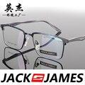 Praça caixa de armações de óculos de olho para homens e mulheres óculos de armação de óculos de prescrição moda mens óculos 32053