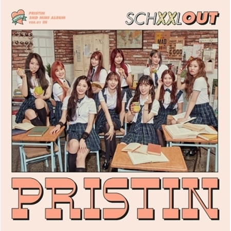 PRISTIN 2nd Mini Album - SCHXXL OUT (IN Ver)  Release Date 2017.08.24 exo 4th album repackage the war the power of music chinese ver korean ver 2 version set release date 2017 09 06
