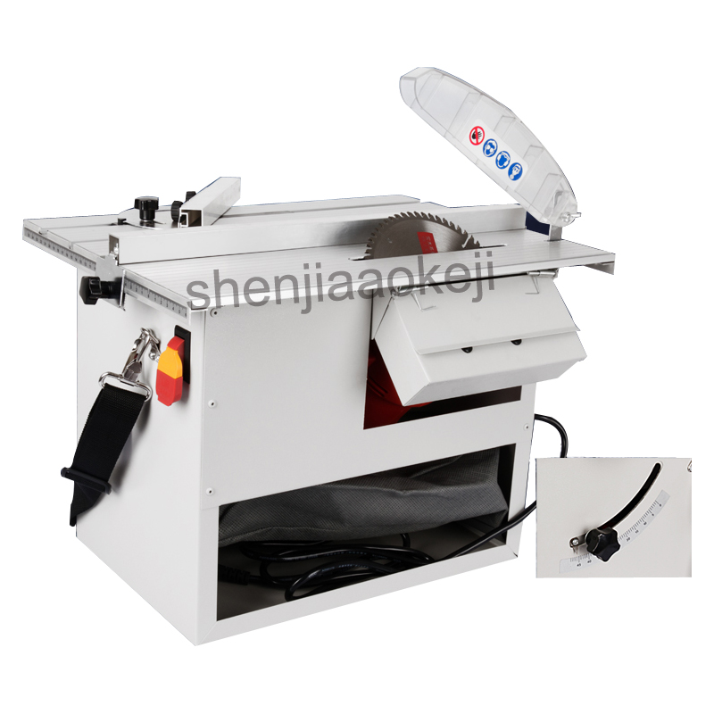 Multi-function cutting machine Wood floor dust-free saw Multifunctional woodworking floor dust-free chainsaw sliding table saw