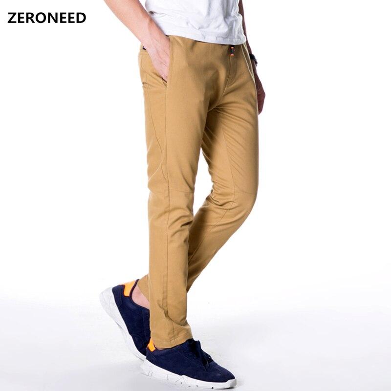 Zeroneed Casual Männer Hosen Mode 2018 Slim Fit Jogginghose Männer Hose Elastische Pantalon Homme Marke Joggers Male Lange Hosen 51