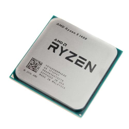 AMD Ryzen 5 1400 R5 1400 3 2 GHz Quad Core CPU procesador YD1400BBM4KAE hembra AM4