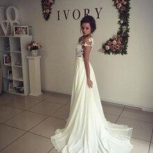 Sexy Beach Wedding Dress with Slit Bridal Dress Wedding Gown Dresses For Bride Superbweddingdress