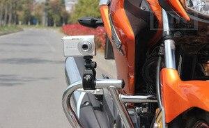 Image 5 - Support de fixation pour guidon de vélo moto pour G7X RX10 RX100 G1X Mark II 265 HS G16 G15 P330 P340 appareil photo numérique DV