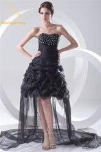 Женское вечернее платье трапеция bealegantom черное со складками