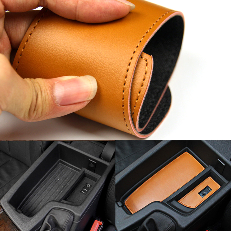 Image 4 - 12PCS Car Styling Door Groove Pad Water Cup Coaster Storage Box Pad Trim Cover for BMW 5 Series F10 2014 2015 2016 2017-in Interior Mouldings from Automobiles & Motorcycles