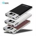 2017 Nuevo Banco Móvil Portable 12000 mah LCD Dual USB powerbank Cargador de Batería Externa para todos los Teléfonos Universal cargador