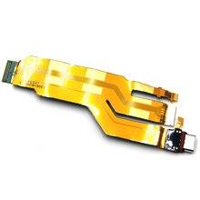 สำหรับSony X Peria XZ F8331 F8332 USB D Ock Connectorชาร์จพอร์ตF Lexสายเคเบิ้ล
