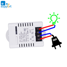 eWeLink Wifi Smart Switch Relay 10A 16A Wireless Remote Control Works With Alexa Google Home Mini IFTTT Automation