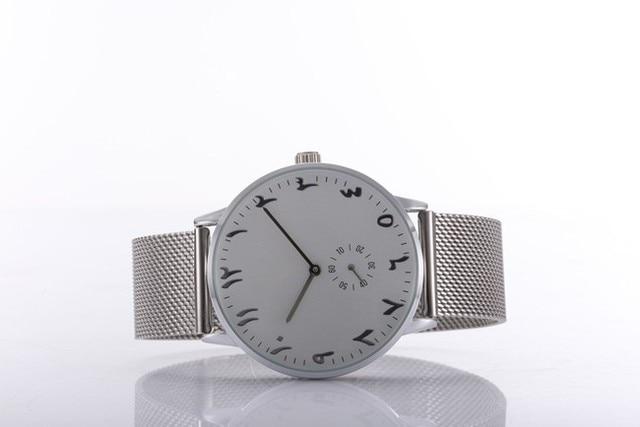 Watches Chronograph Unisex Steel Mesh Straps