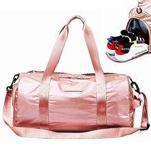 Lovers Outdoor Sport Bags Lightweight Travel Handbag Dry And Wet Separation Swimming Women Yoga Training Men Gym