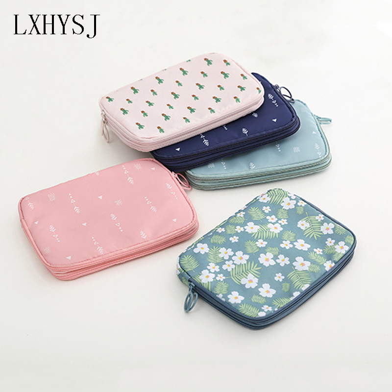 LXHYSJ Fashion Travel Passport Bag Multifunction Credit Card Package ID Holder Storage Organizer Clutch Money Bag lxhysj fashion print passport bag lady travel passport file credit card identity card holder organizer multi functional bag