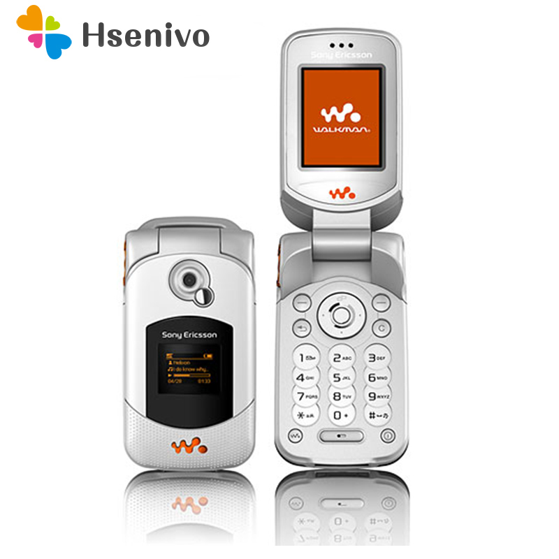 W300i 100% Original Unlokced Sony Ericsson W300 W300i Mobile Phone 2G Bluetooth FM Unlocked Cell Phone Free Shipping