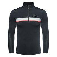 Mens Summer Half Zipper Golf Shirt Long Sleeve Training Tops Golf Shirt Sunscreen Ice Tops Golf Apparel For Men D0657