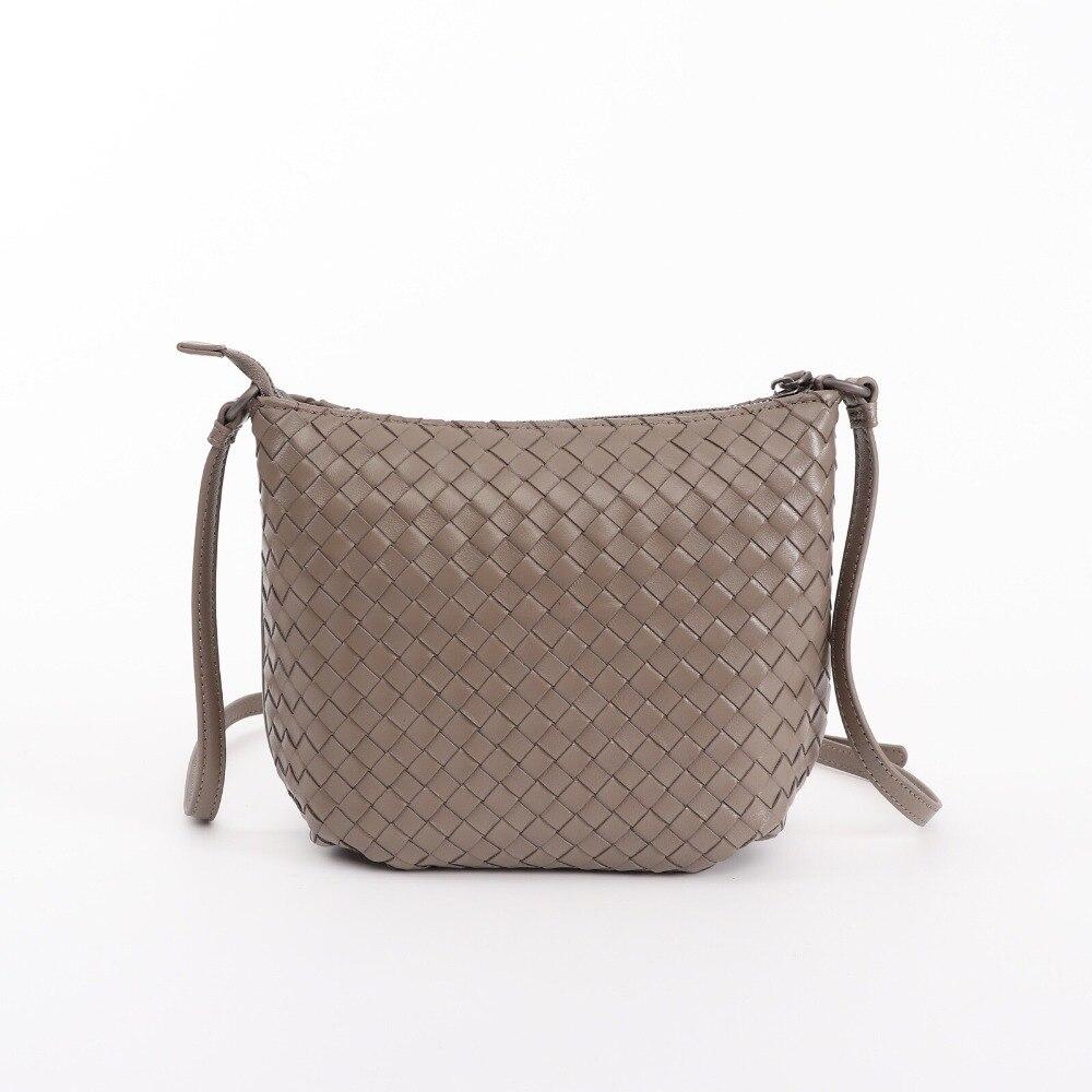 HJKL Newest Style Sheep Skin Knitting Luxury crossbody bags Women Girls messenger bags Handmade Designer Top