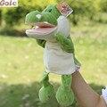 Marioneta De Mano De Cocodrilo Para Niños Brinquedo Menino Kukla Inside Out Peluche Tortuga de Peluche Títeres Ventrílocuo Tapa Infantil Juguetes Baratos