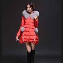 The high-end new winter trend slim slim lengthy part dimension feminine down coat Y5